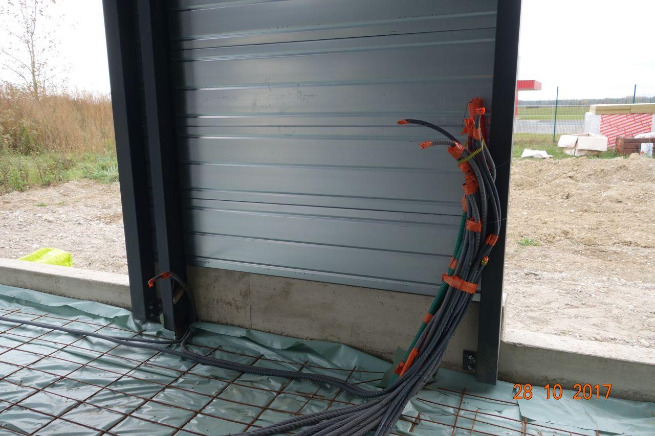 Gaines Electrique au niveau du tableau électrique.
