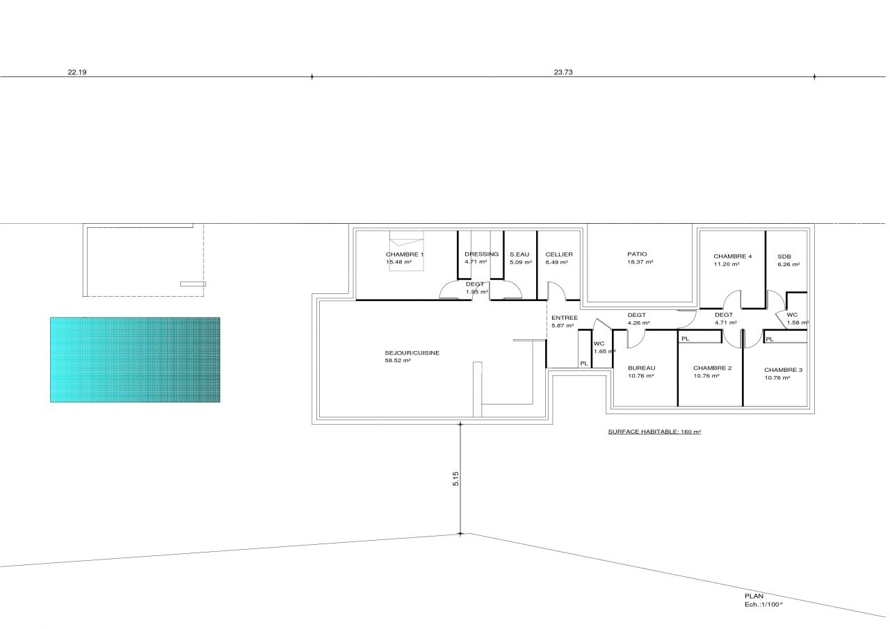 Avis plan maison architecte 170m 24 messages for Maison d architecte plan