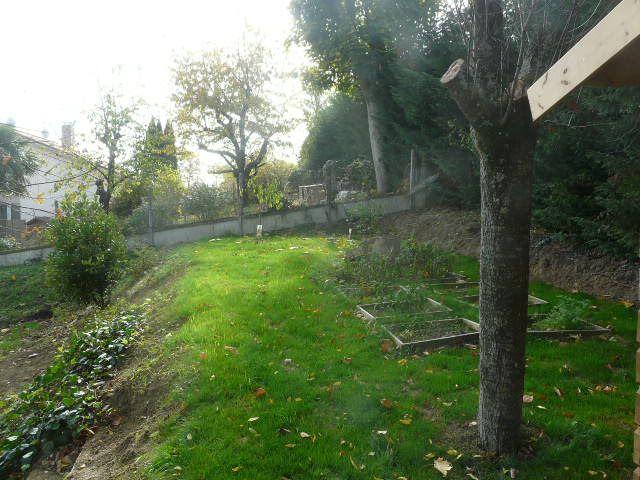 La partie haute du jardin début novembre