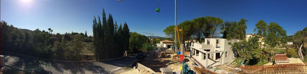 Acrotères terrasse R+1
