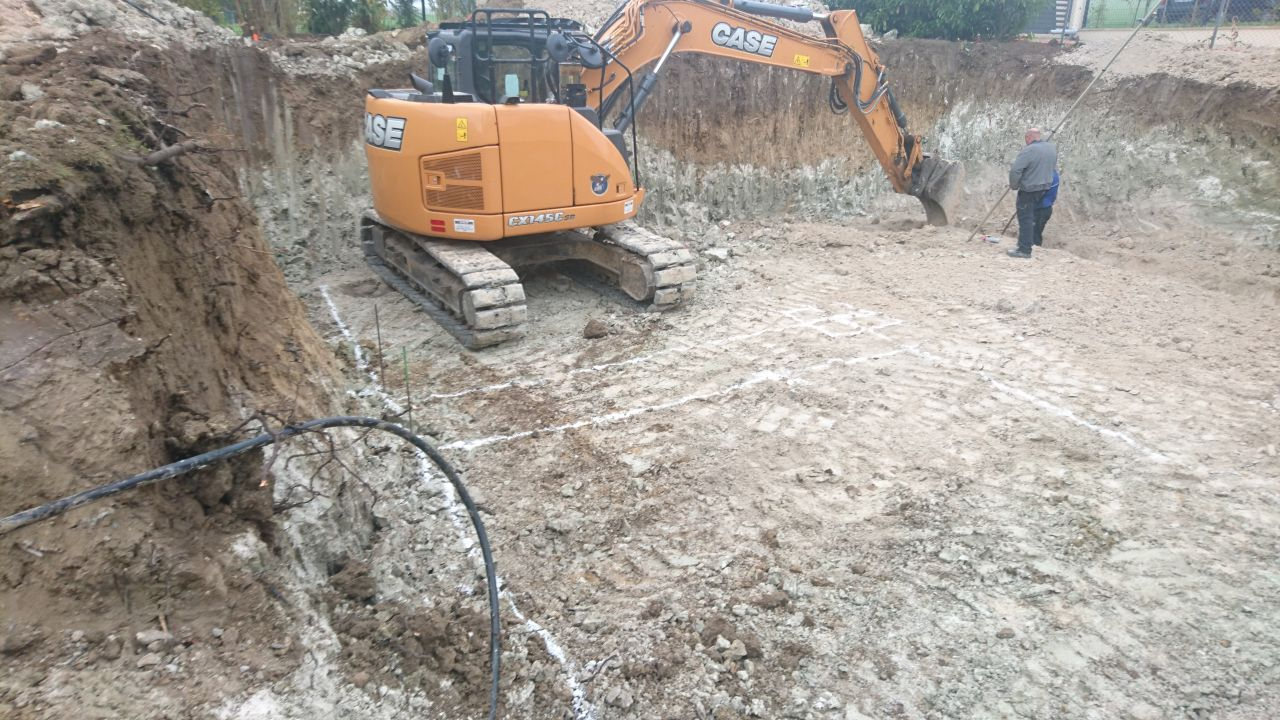 terrassement des fondations