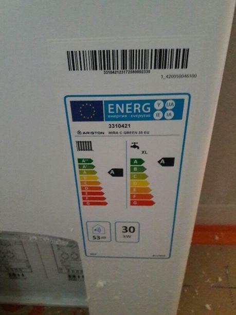 La chaudiere gaz MIRA Green C  35 kW