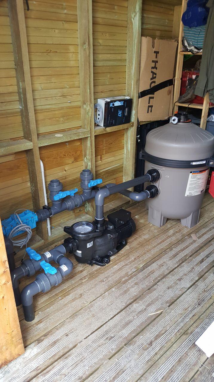 Mise en place du système hydraulique, c'est fait !