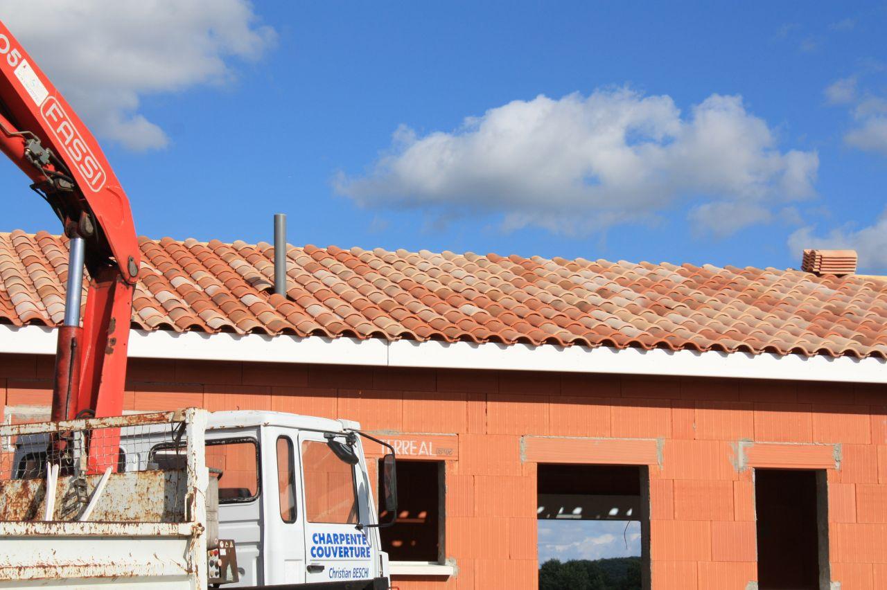 Photos de la toiture.