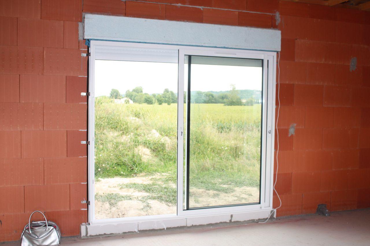 Fenêtre du salon coté Sud.