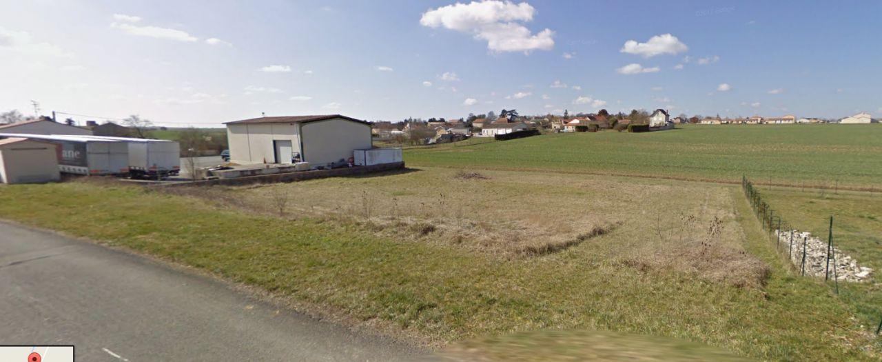 Le terrain nue (google street view)