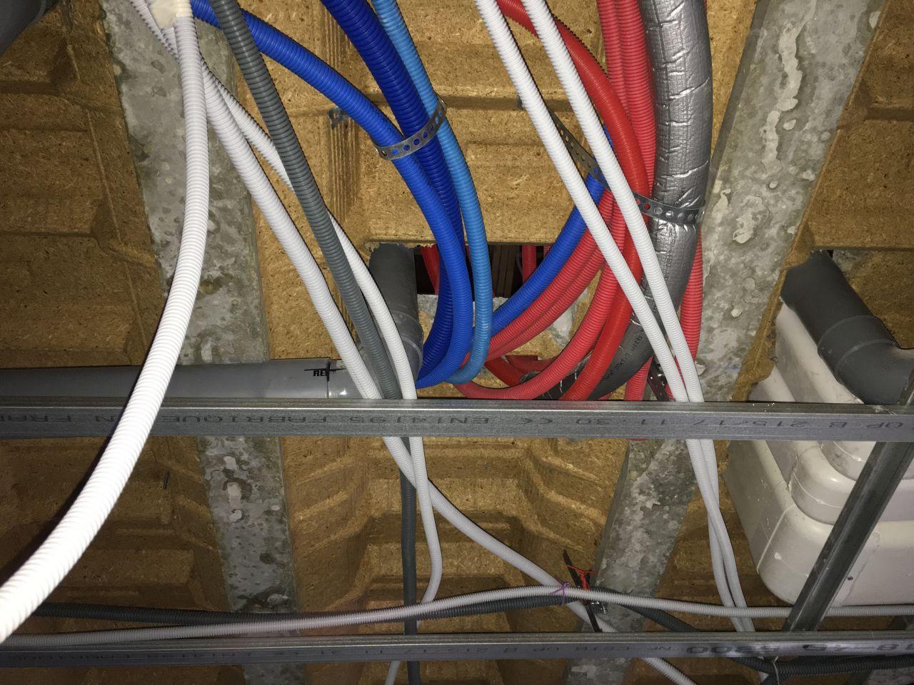 Installation réseaux plomberie