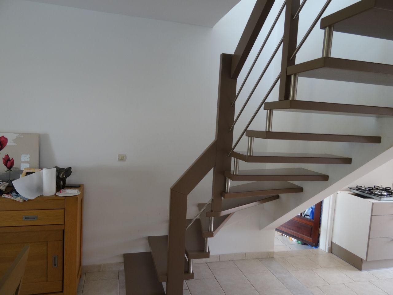 Escalier commandé