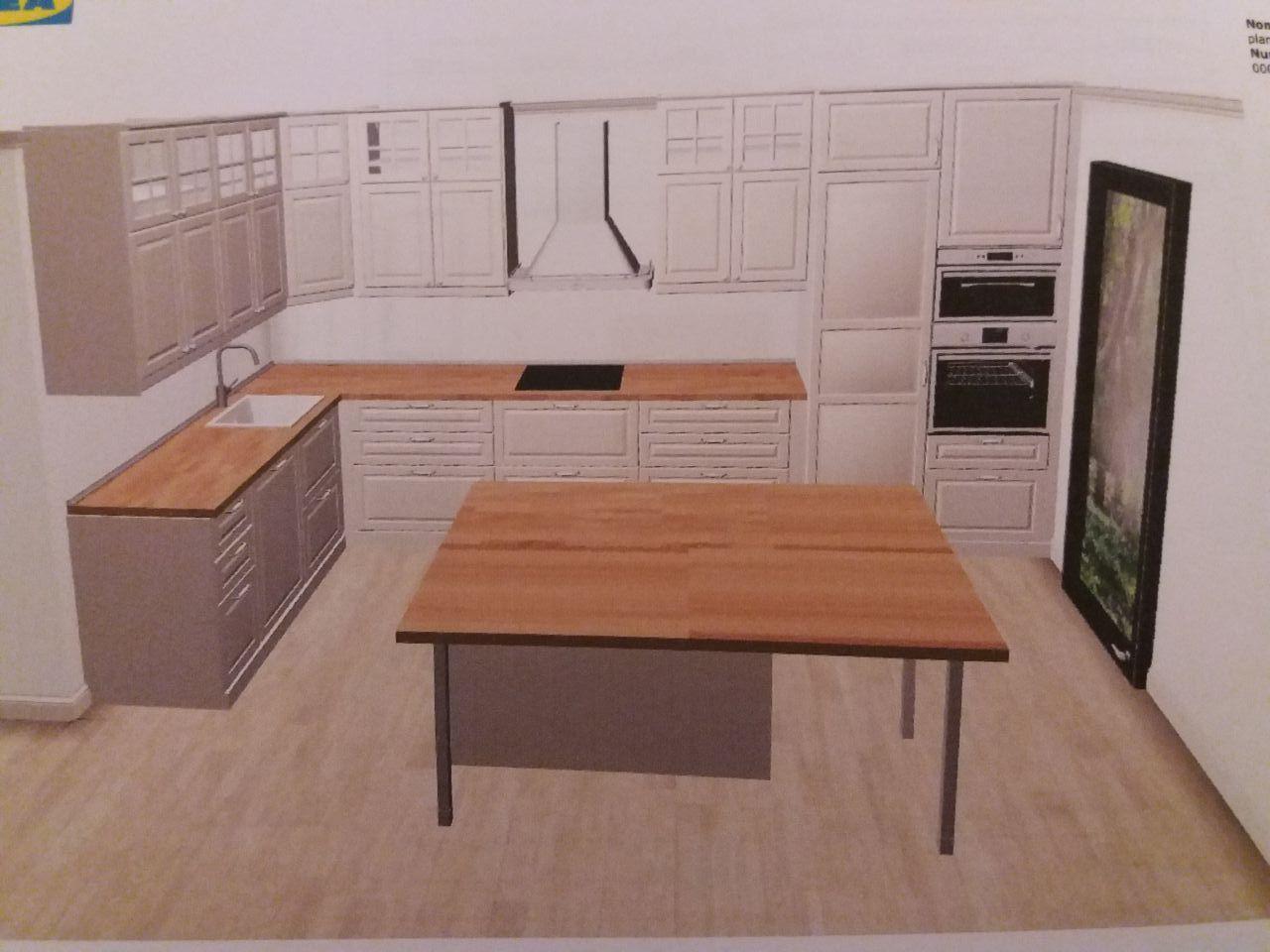 choix du modèle de l'implantation de la cuisine