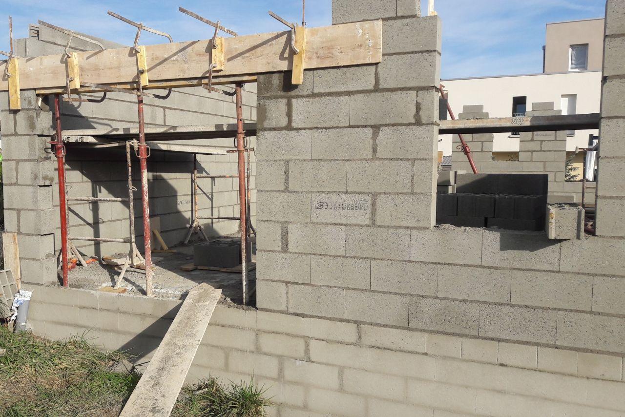 Elevation des murs, jour 3