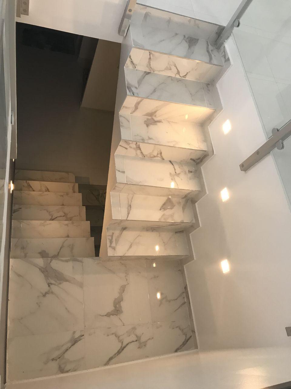 Premier aperçu escalier non finalisé