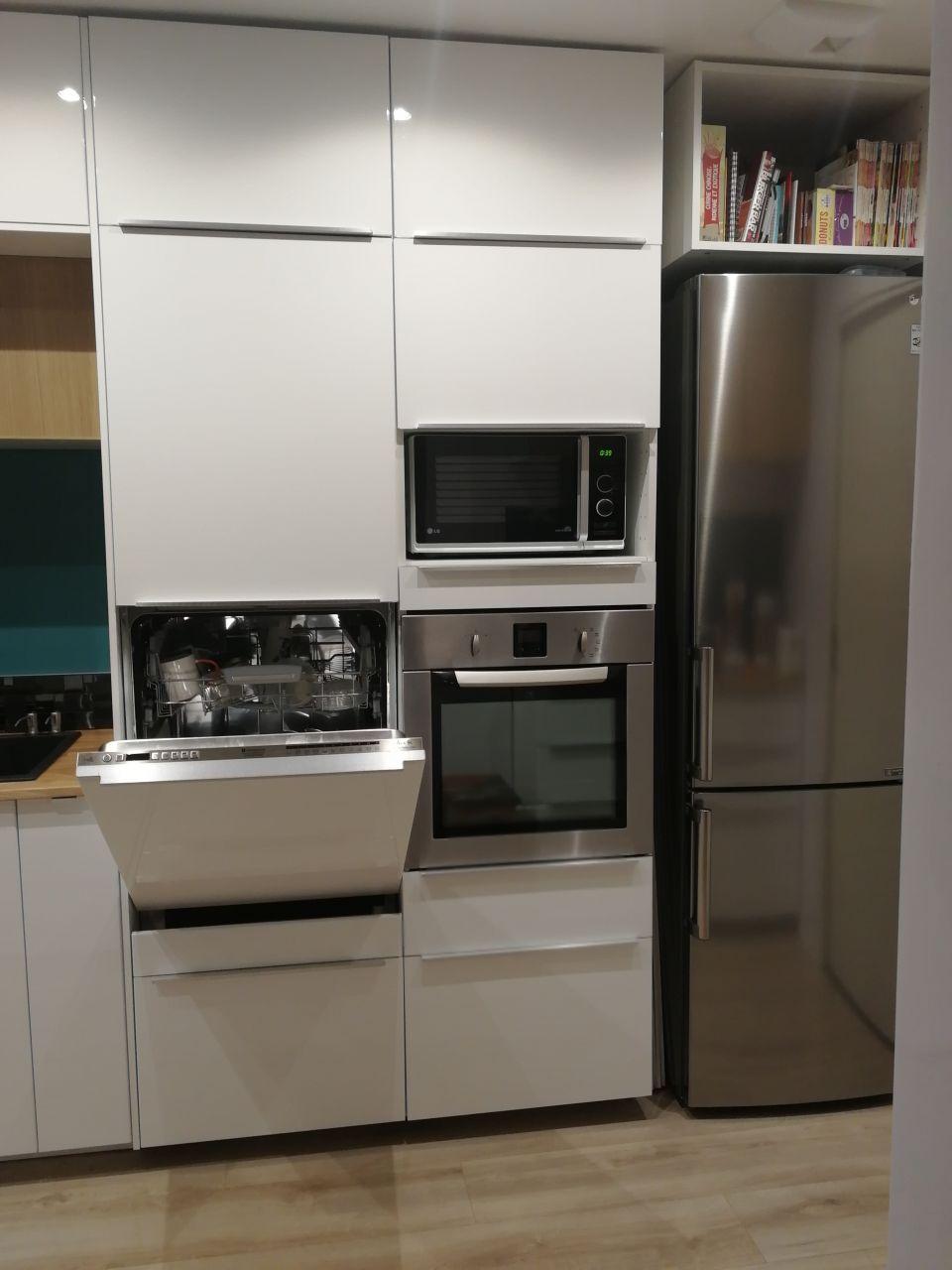 Lave vaisselle totalement intégrable dans cuisine Ikea Metod - 14