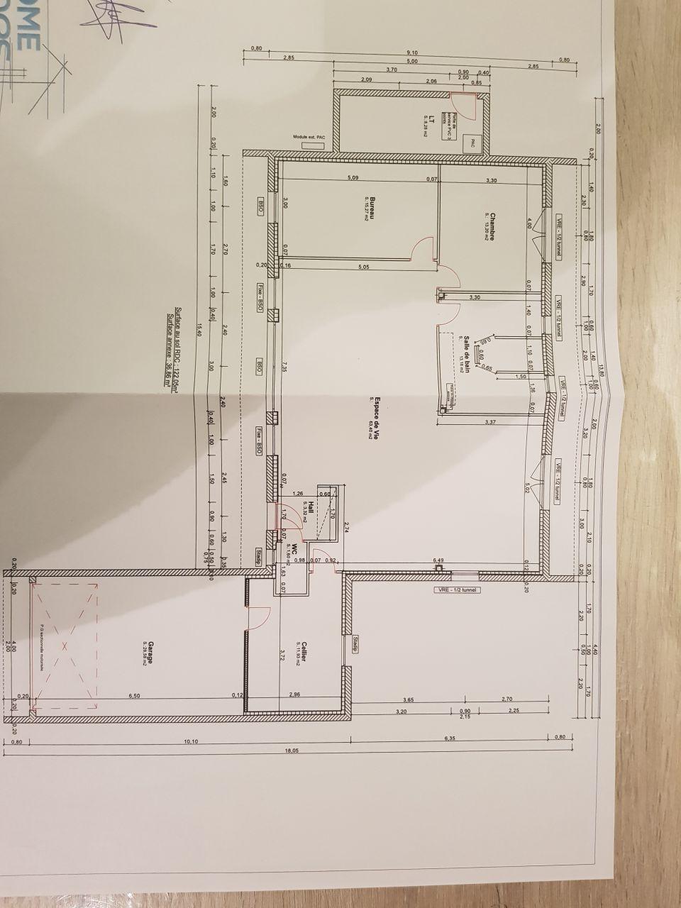 plan maison interieur