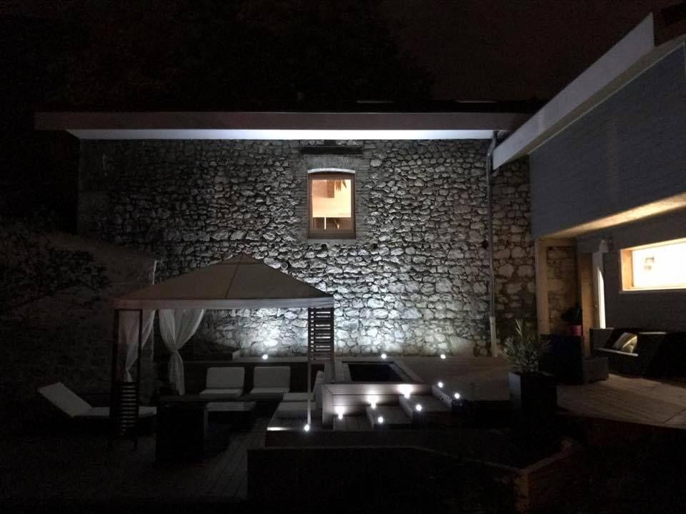 La terrasse de nuit