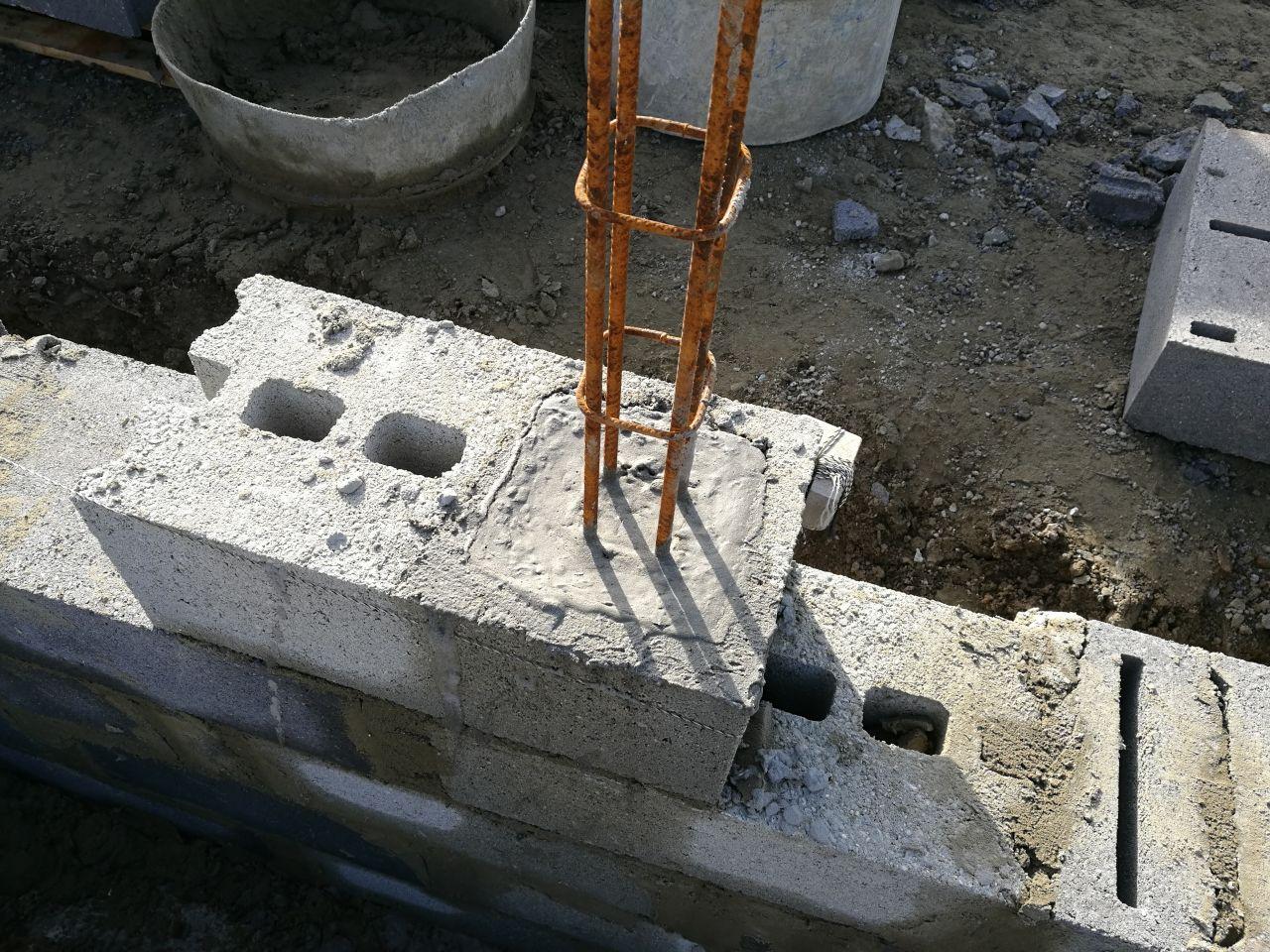 début fondations