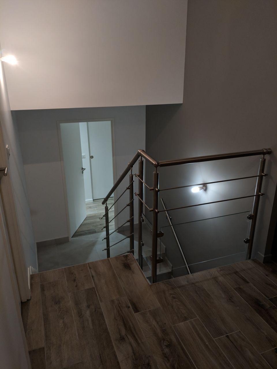 Escalier et rambarde
