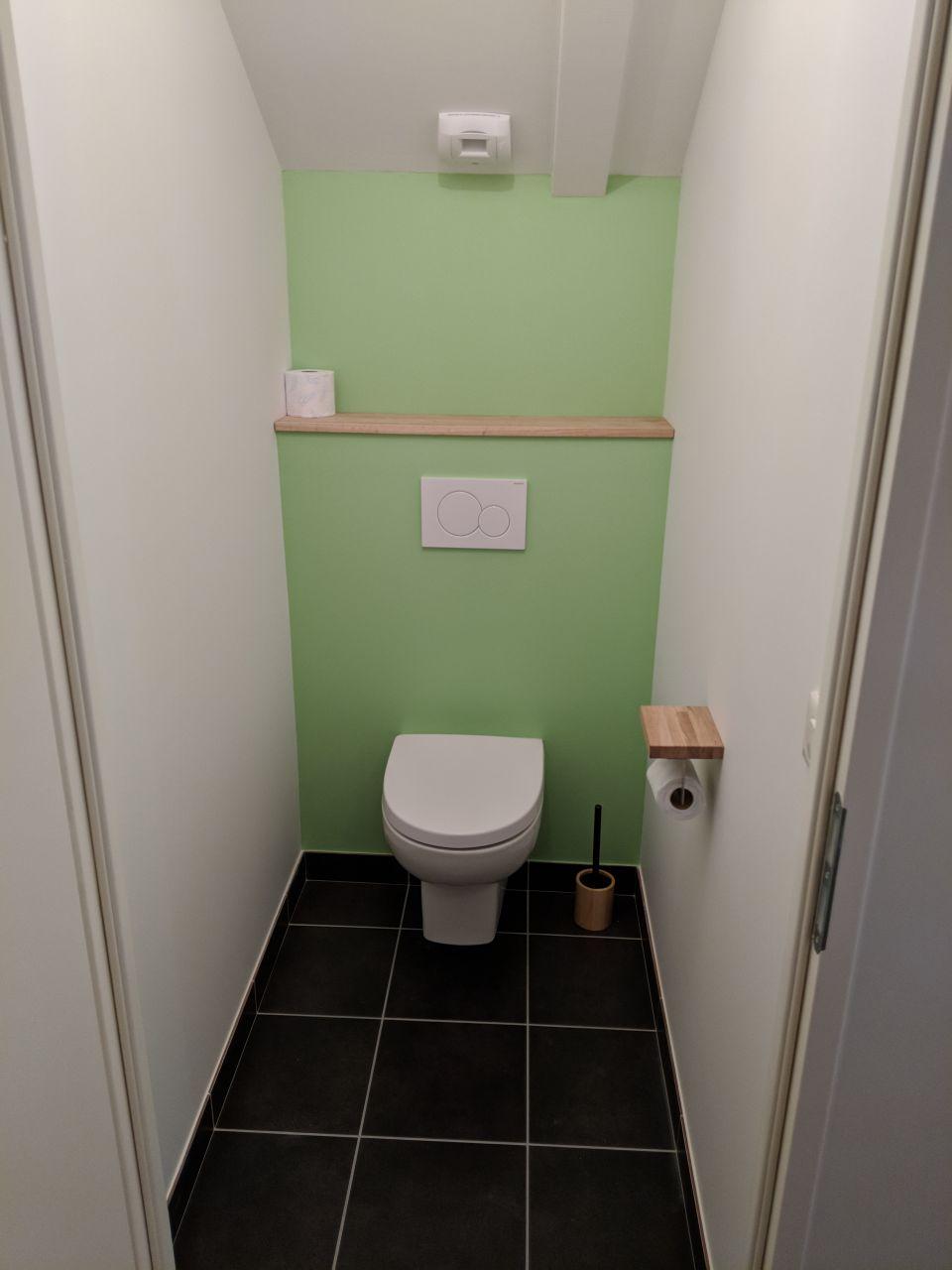 WC fun des chambres de l'étage