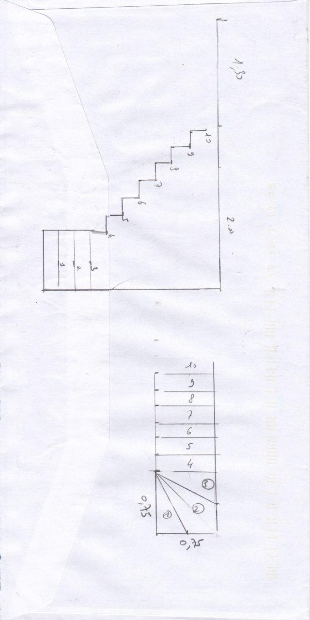 Plan du 1er étage dans l'état