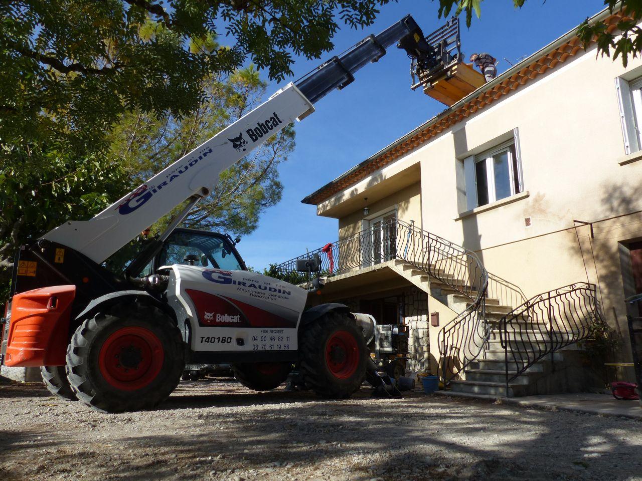 Réparation de la toiture