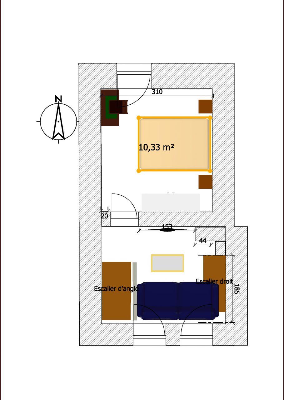 Plan 1er étage