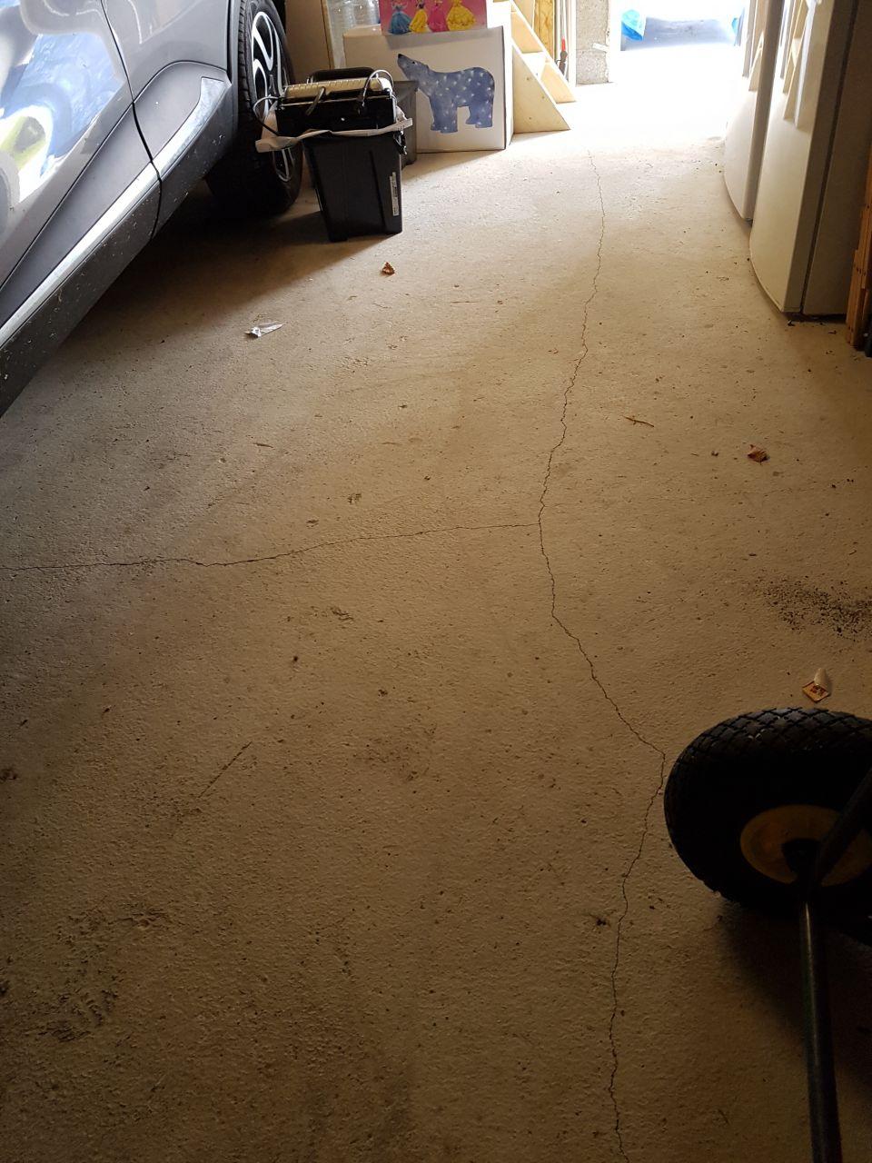 Fissures traversantes dalle b ton garage 8 messages for Fissure sol garage
