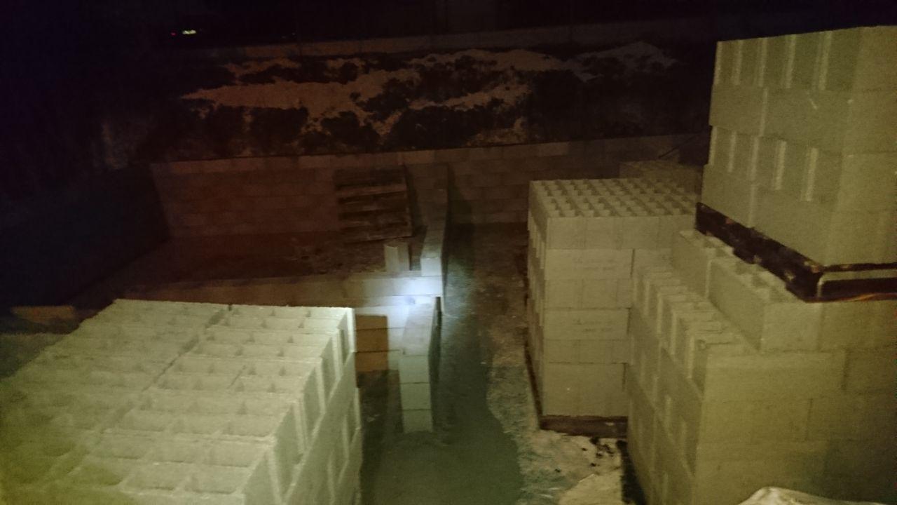 murs d'escaliers