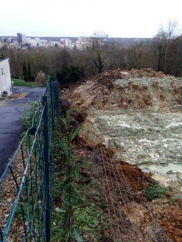 terrain inondé dégâts chez le voisin