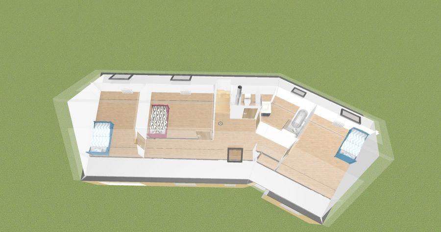 vue étage 3D 78/98
