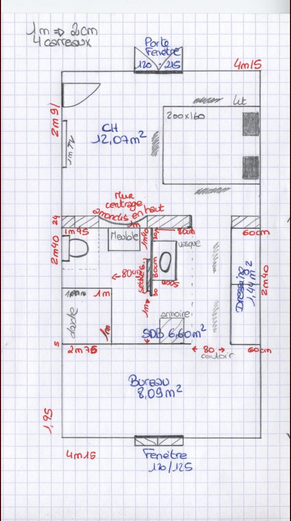 Plan Suite Parentale 15m2 Maison Design