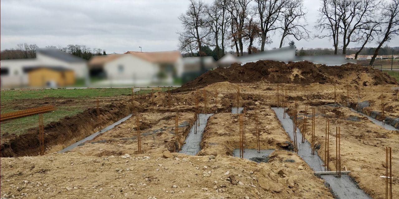 Coulage des fondations