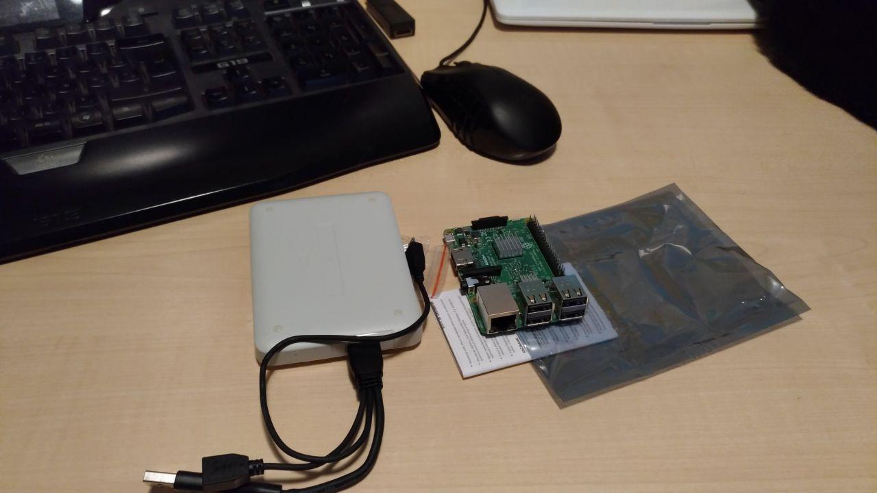 Raspberry pi 3 + Pidrive