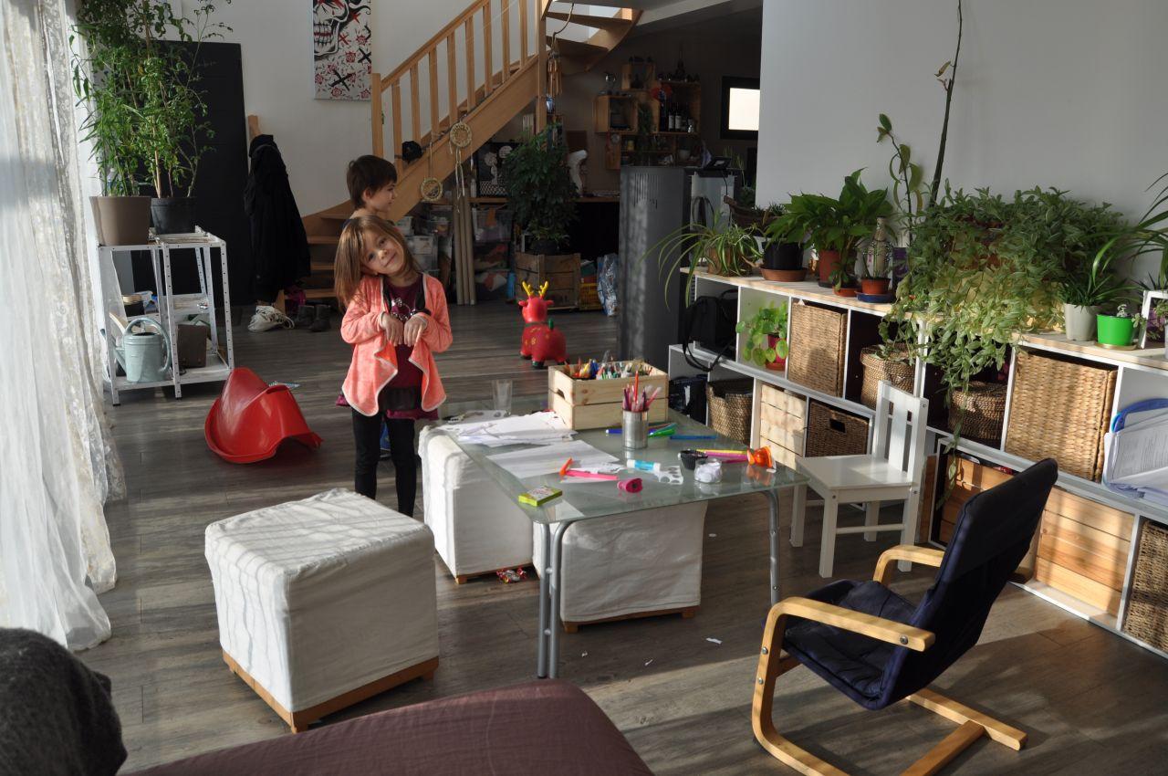 réaménagement du salon... adopté par les enfants