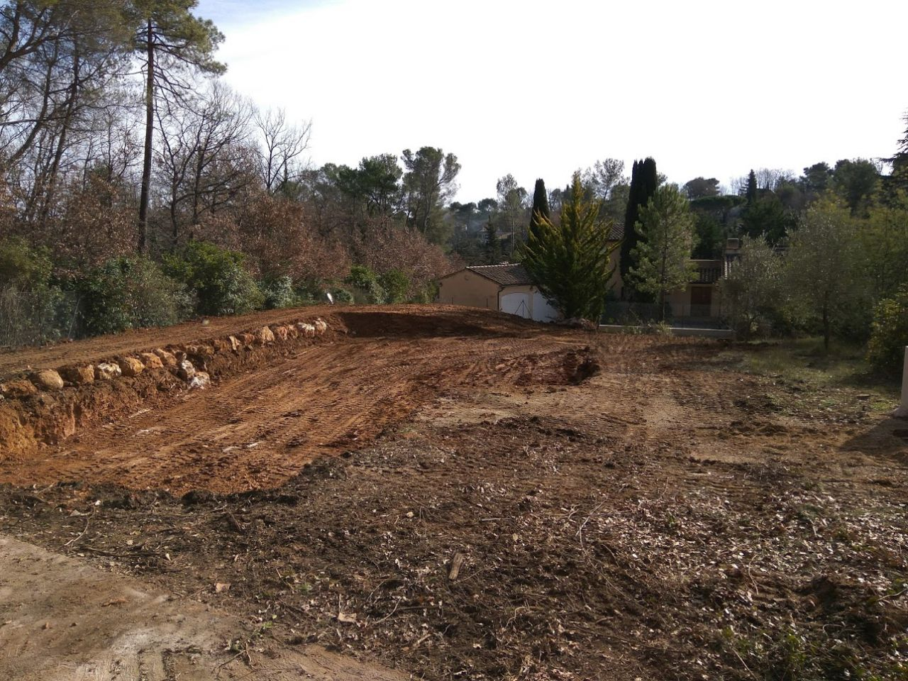 Terrasement et excavation
