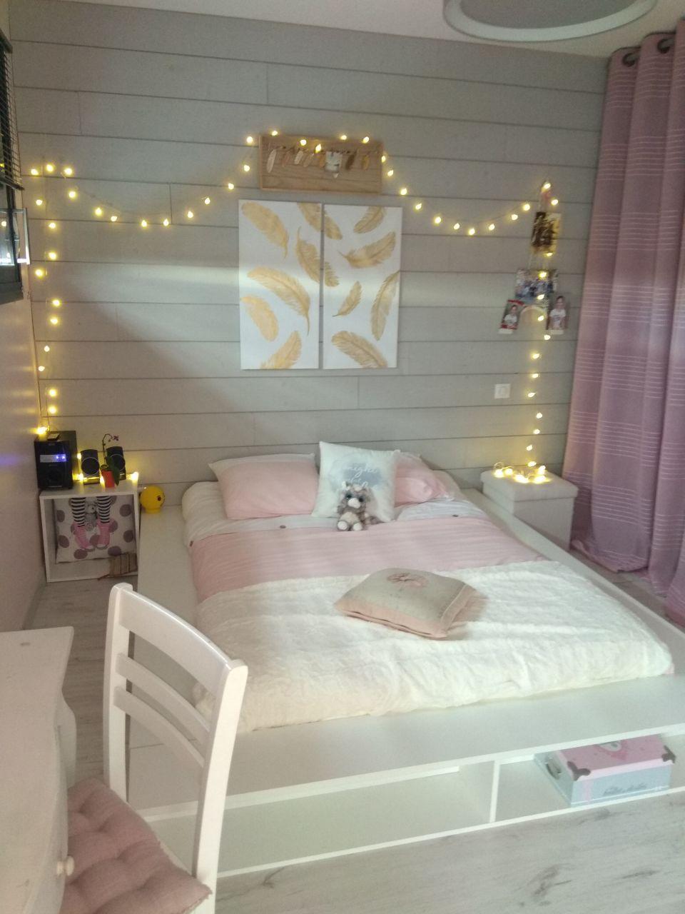 Chambre de notre fille terminée.