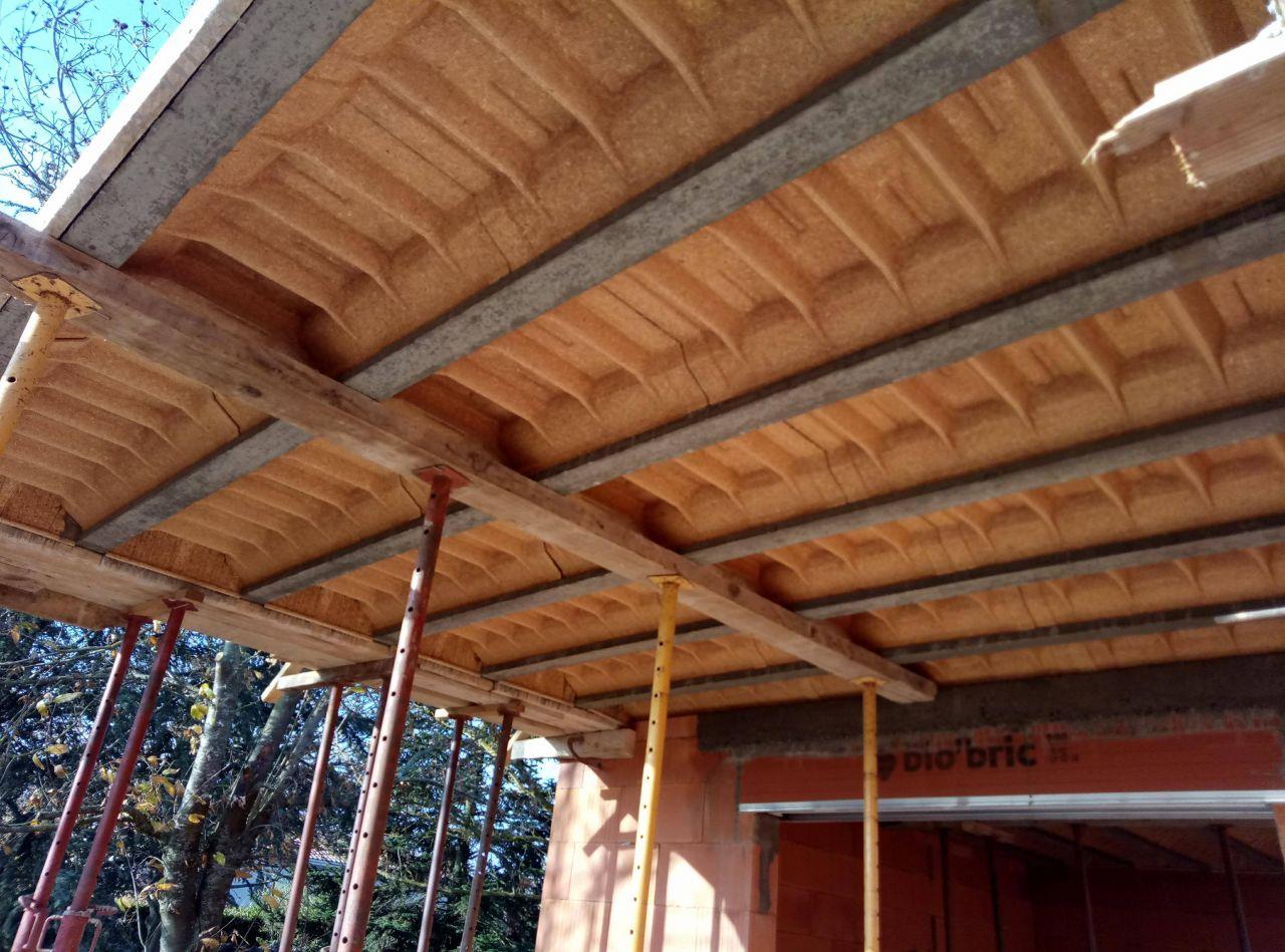 Casquette béton pour terrasse - étanchéité