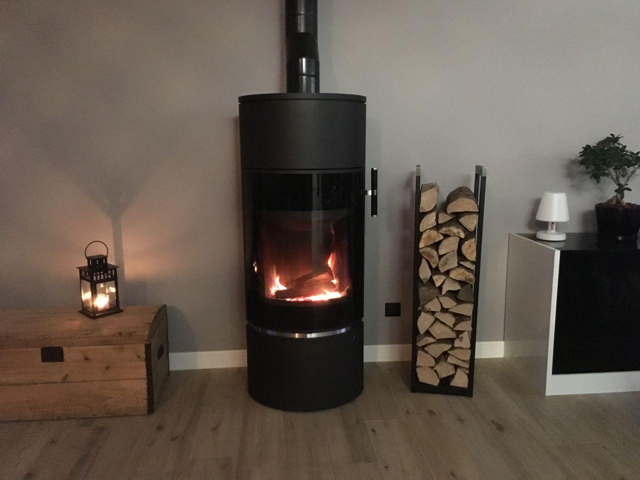 Notre poêle à bois de Cera-Design