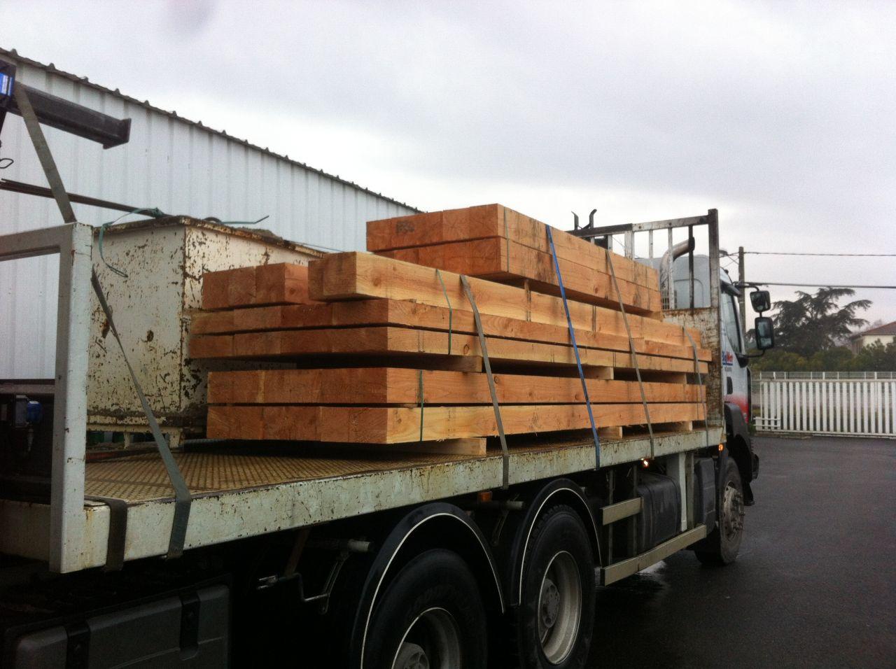 Livraison du bois