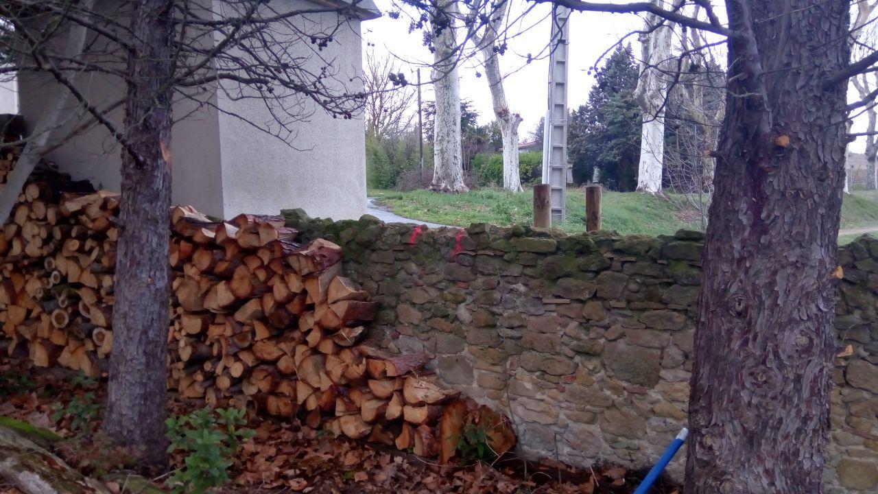 Compteur Enedis : avant découpe du mur