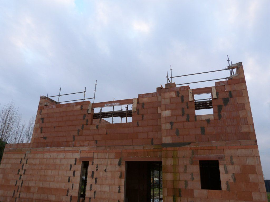 reprise de l'étage de la façade