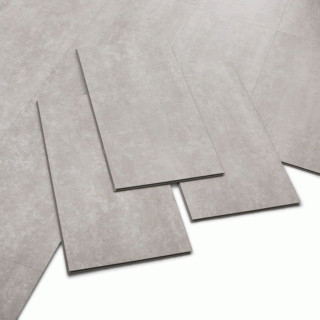 dalles PVC Leroy Merlin clipsable silver ARTENS Knock
