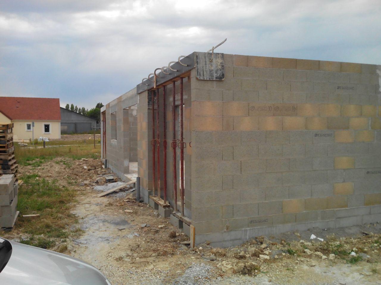Les murs sont déjà finis !