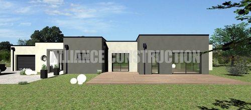 plan maison moderne plain pied avis pour modifications 44 messages. Black Bedroom Furniture Sets. Home Design Ideas