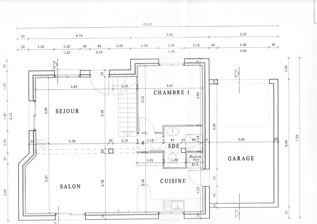 Am nager une cuisine de moins de 8m2 calvados - Amenager une cuisine de 8m2 ...