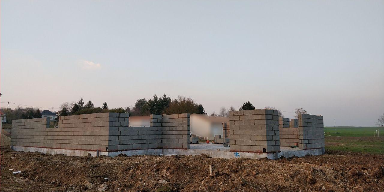 Élévation des murs (Jour 2)