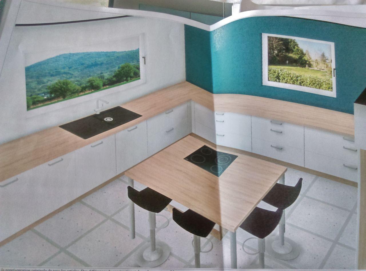 Plan de la cuisine