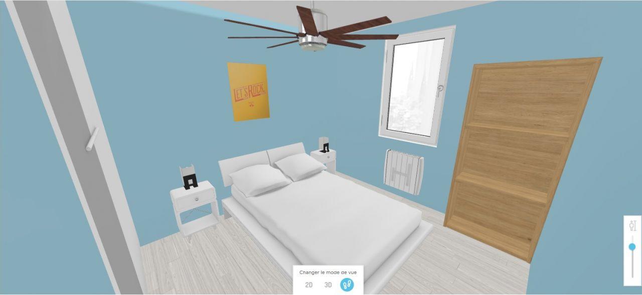 D'autres photo 3D avec Homebyme et un peu de déco