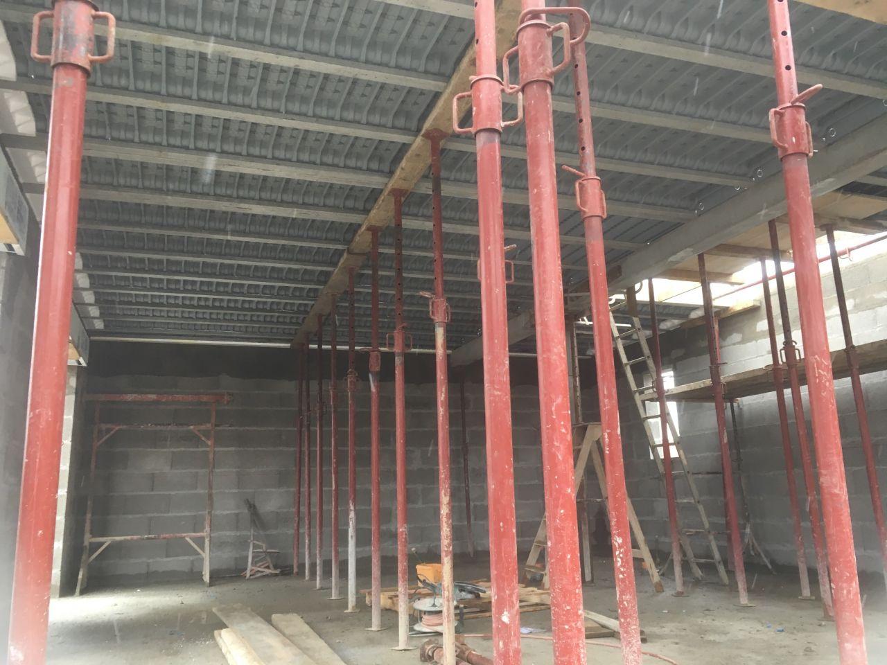 Préparation 1er étage