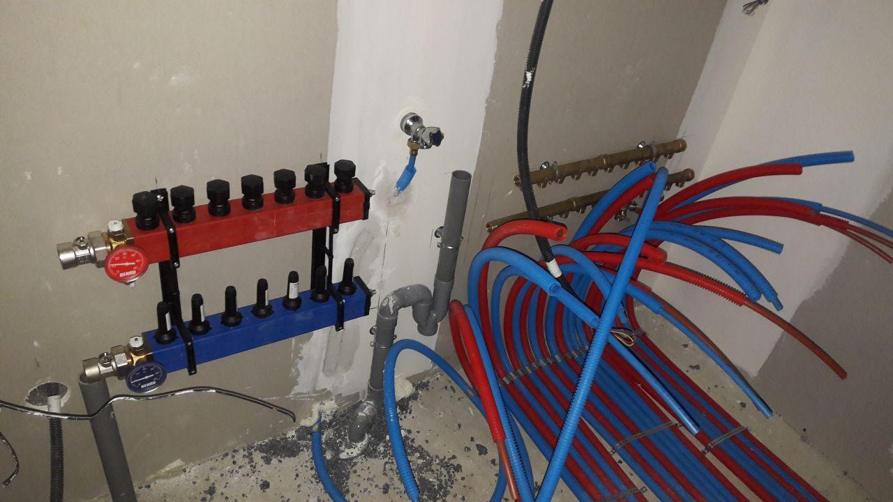 nourrice de pompe a chaleur et nourrice générale pour la plomberie