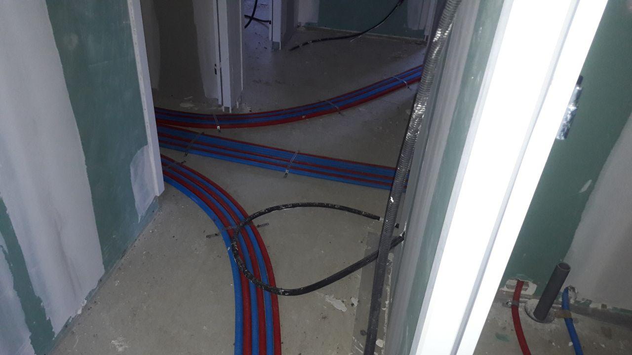 tuyau de plomberie en PER