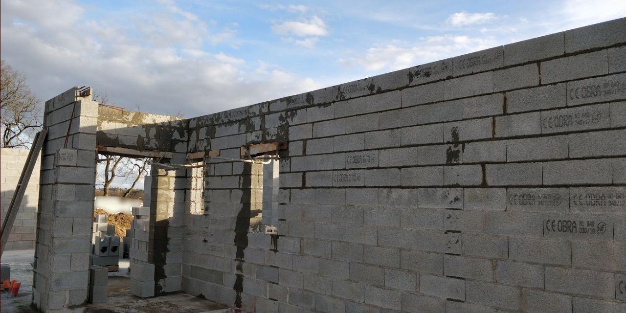 Élévation des murs (Jour 5)